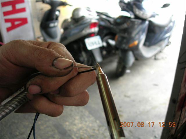 电动车钥匙电路图与接线图